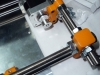 Y-Axis - stepper mounted