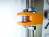 Y-Axis - close up of belt idler