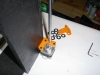 Z-Axis - stepper mounted - linear rod added
