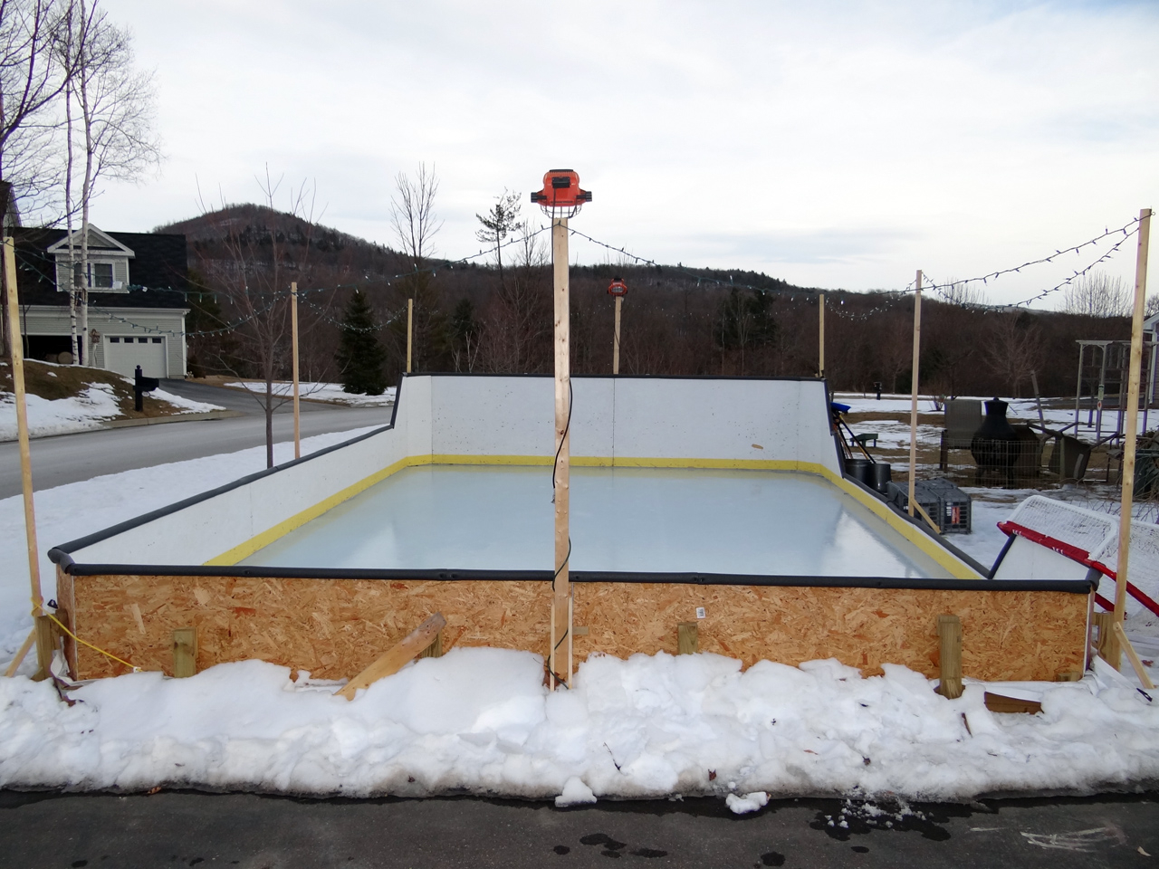 Backyard Rink Liner : Backyard Ice Rink Back Yard Ice Rink Backyard Skating Rink  2016 Car