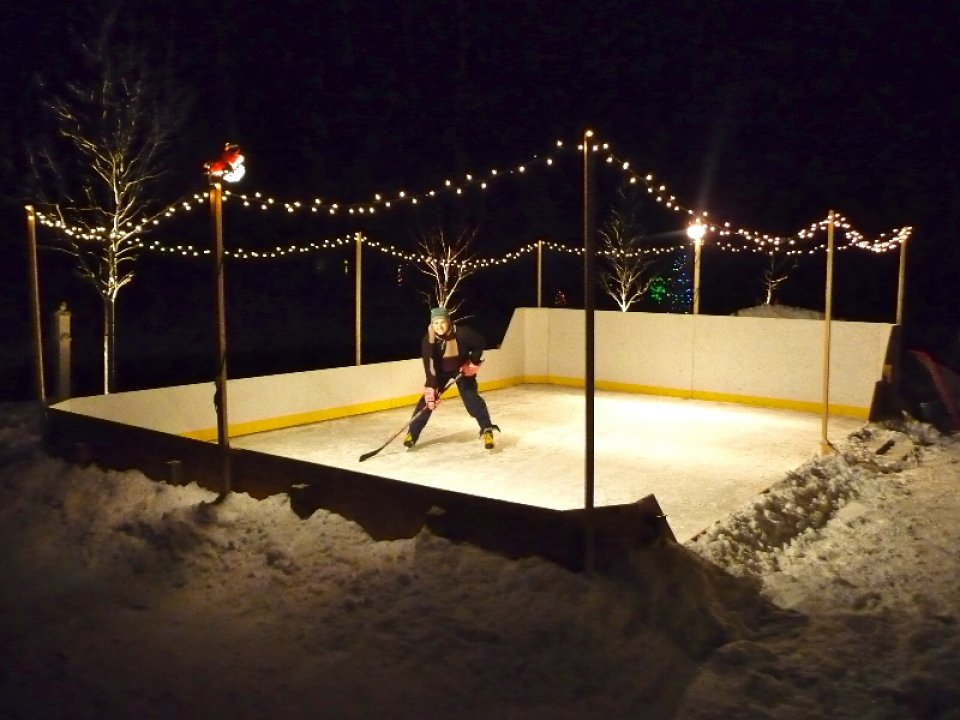 Backyard Rink Lighting : Electronics Mods, Physics  Science, Other Projects Recap  the Morgan