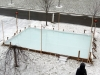 Backyard Rink Goes Up - 2012-2013