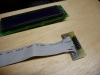 2x8 header to 1x16 ribbon cable + LCD