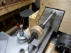 Turn Hub On Lathe