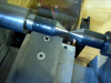 Spindle center & Tailstock center alignment test