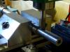 Milling the setscrew flats