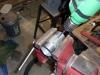 Drill hinge holes