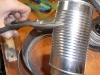 Cut the Tin Can to the height of the Lid