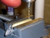 """Drill Burner Tube Lock Holes with #35 ( or 7/64"""" ) drill bit"""