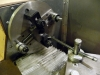 Lathe Setup for Boring the Tool Holder Mounting Hole