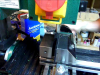 Cleaning Up Laser Mount on Milling Machine
