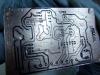 Toner Transferred Traces on Controller Board