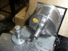 3-Jaw Chuck Mounted, Turning Down 1018 CRS